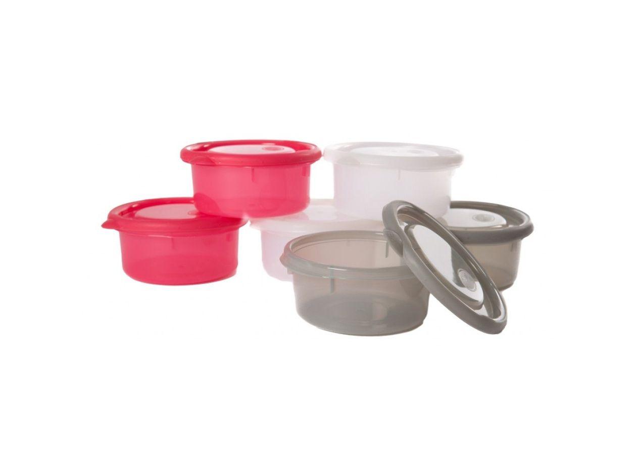 image Bo Jungle Bowls δοχείο αποθήκευσης παιδικής τροφής (ΣΕΤ 6 ΤΕΜ) 300ml