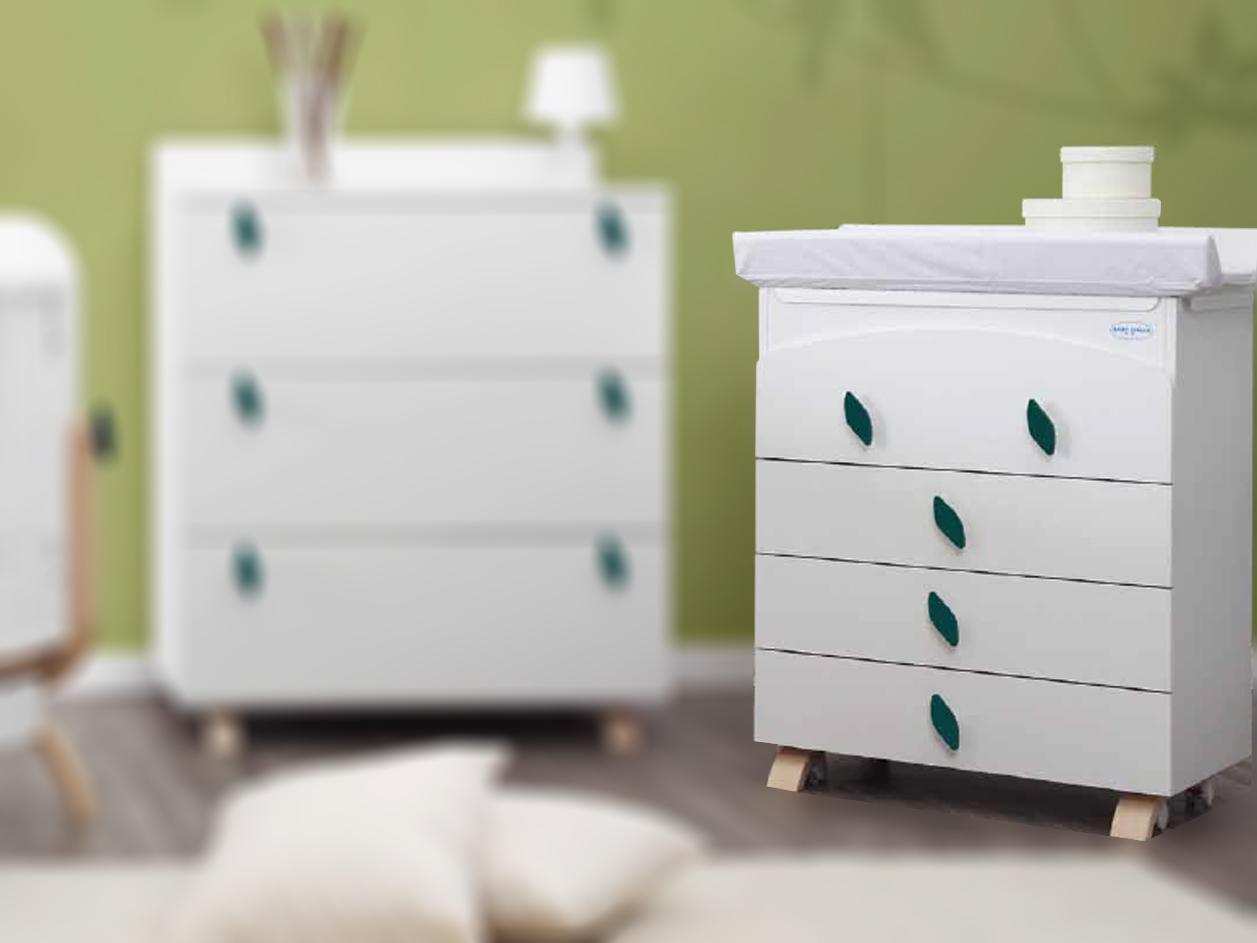 image Βρεφική Συρταριέρα Αλλαξιέρα EVO