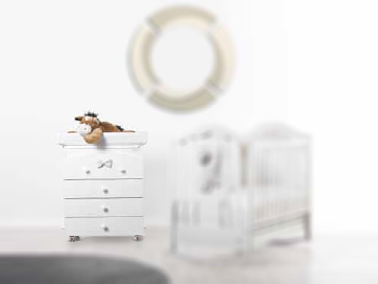 image Βρεφική Συρταριέρα Αλλαξιέρα FIOCCO