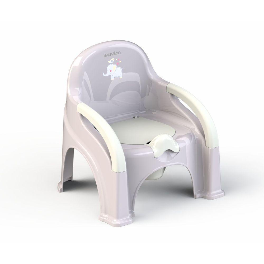 image Babylon Εκπαιδευτικό Καρεκλάκι Γιογιό Chair Lux Grey Elephant
