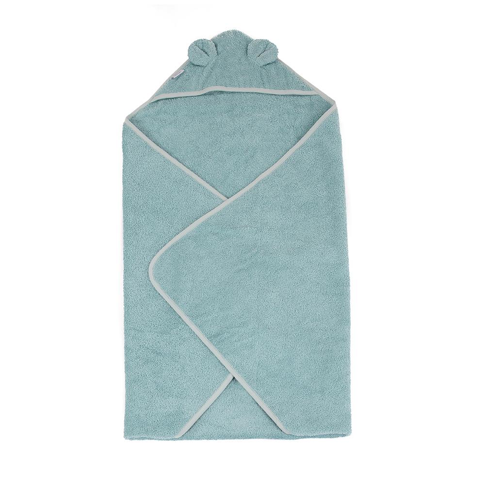 image B-Bathcape Bear Blue Eco Sponge