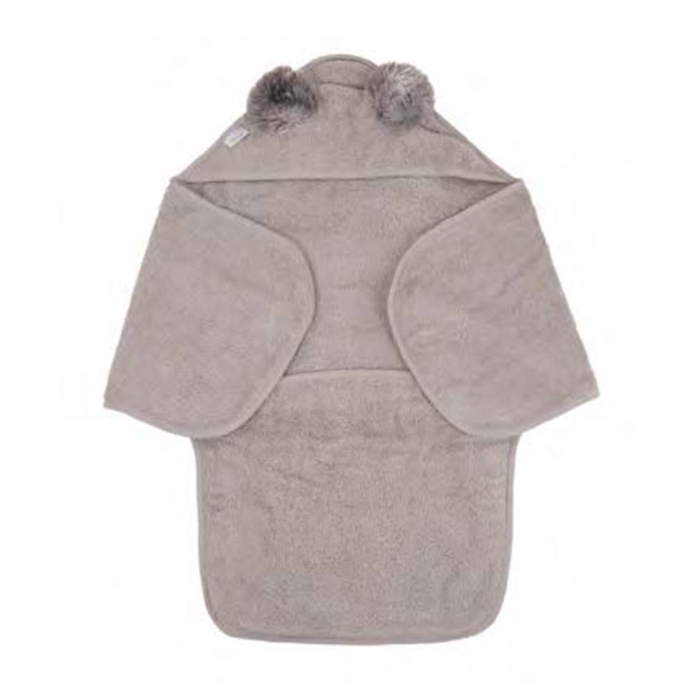 image B-Bath Swaddle Koala Grey Eco Sponge