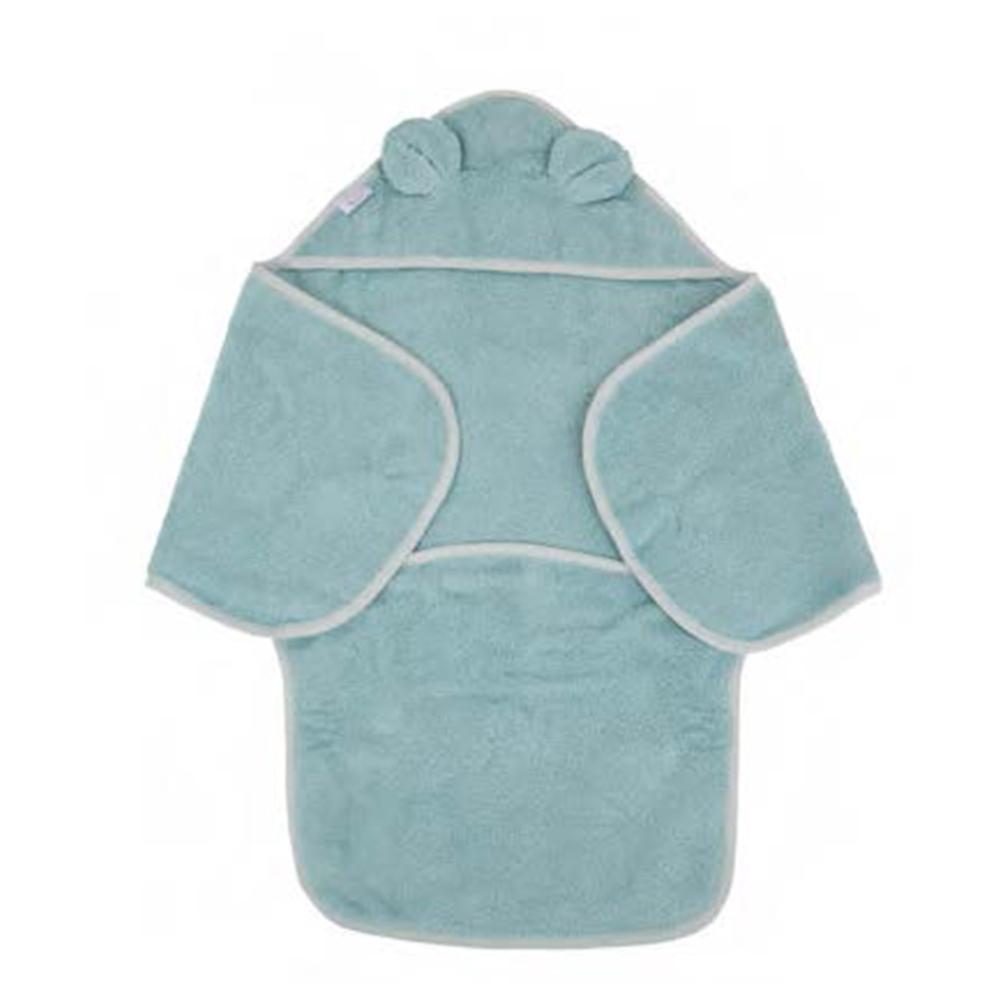 image B-Bath Swaddle Bear Blue Eco Sponge
