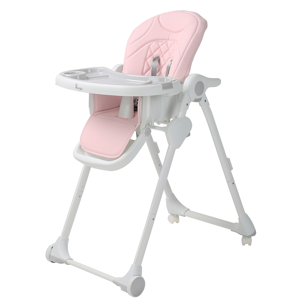 image B-Dinner Chair Wheely Pink