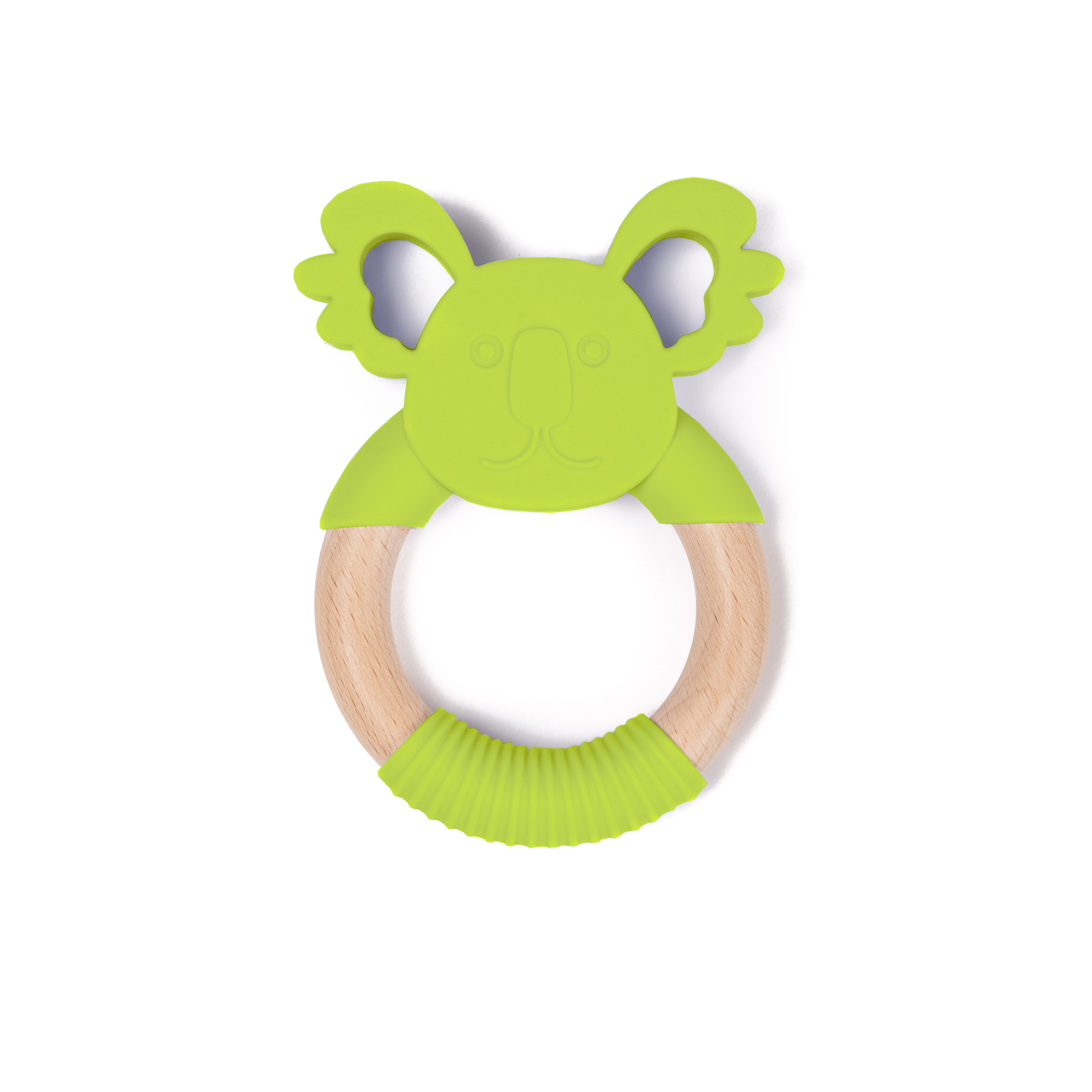 image B-Wood Teether Green Koala