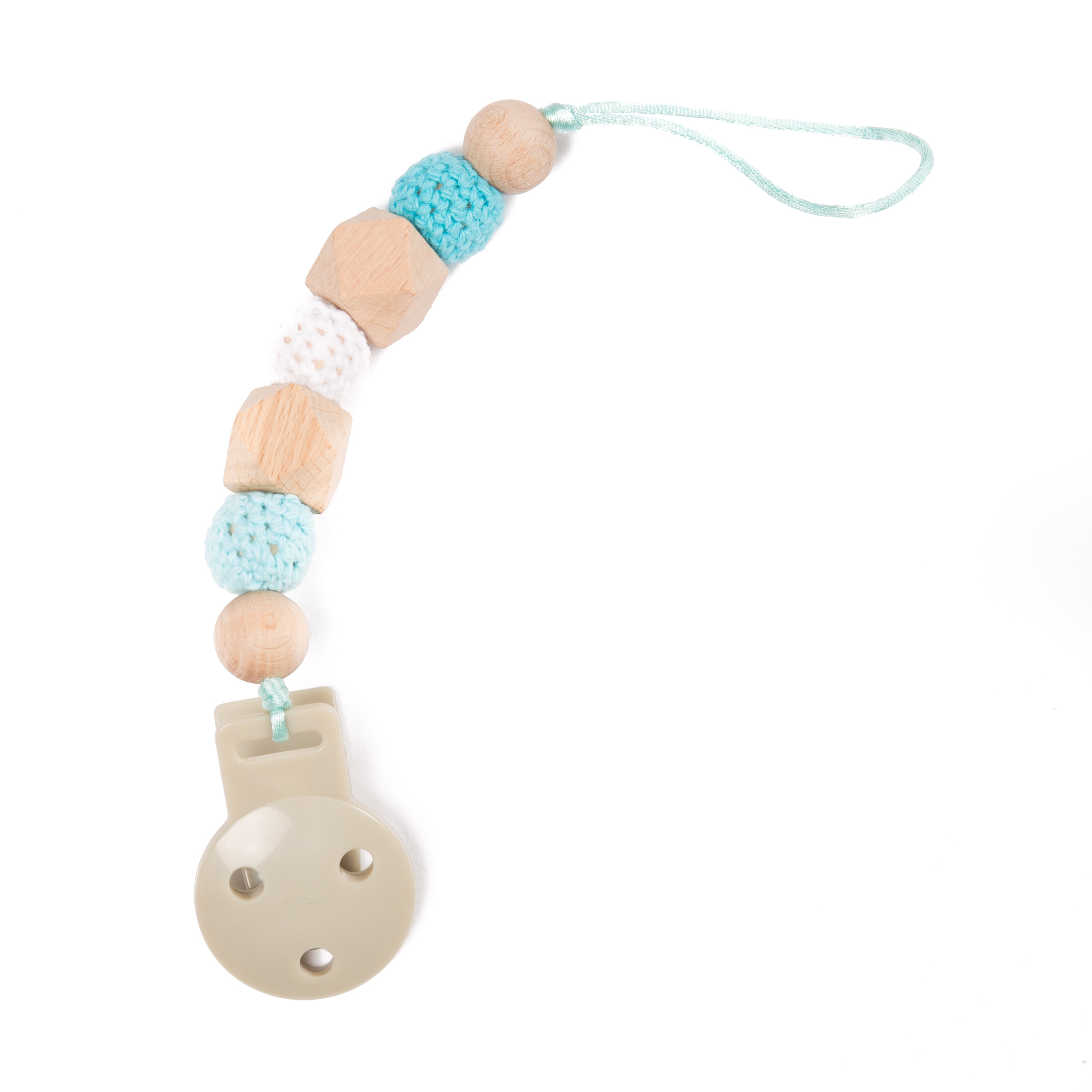 image B-Pacifier Chain Blue