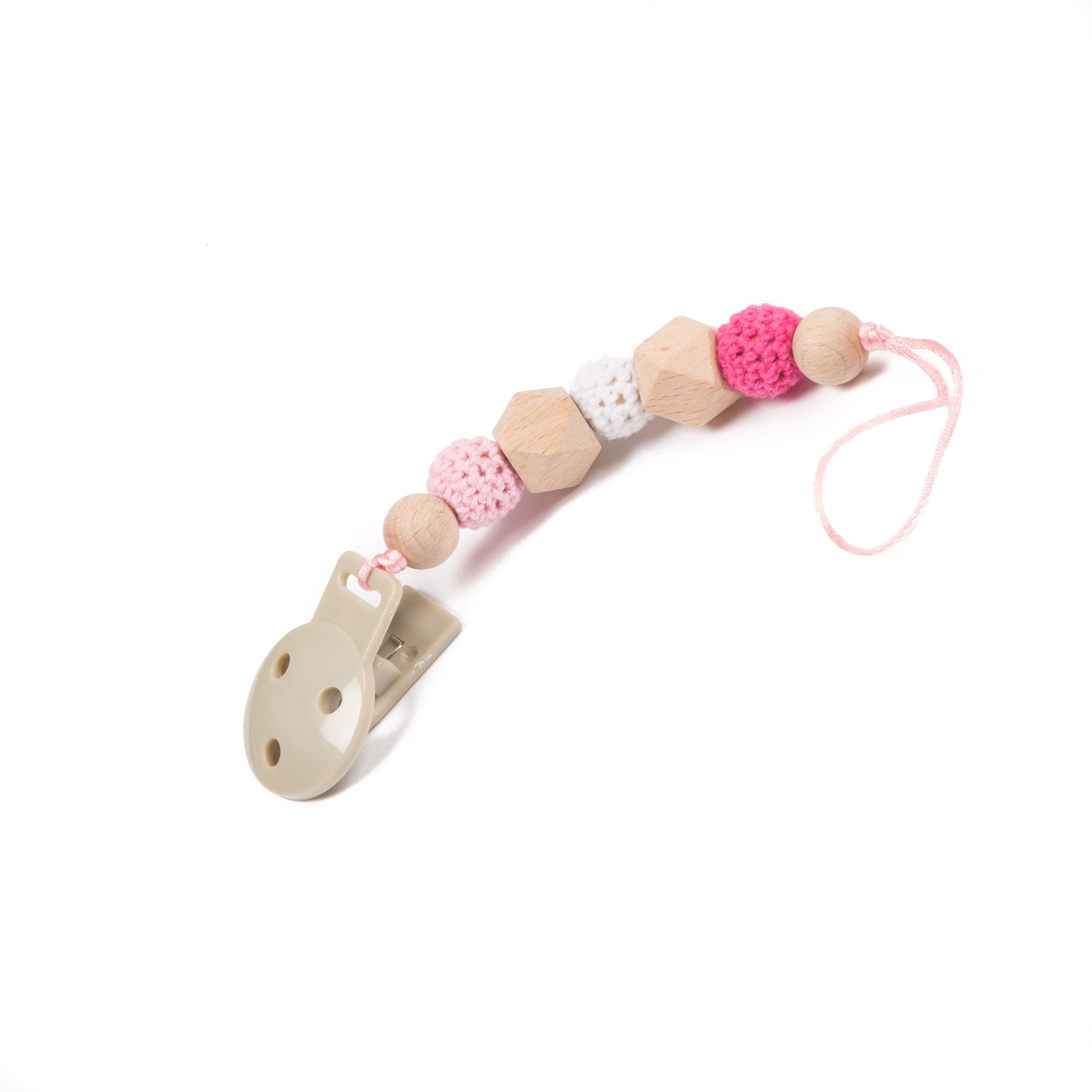 image B-Pacifier Chain Pink