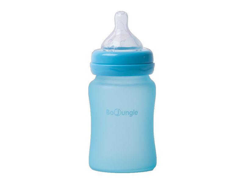 image Thermo Bottle Γυάλινο Μπιμπερό με Σιλικόνη 150ml