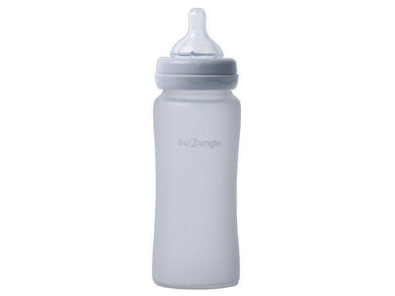 image Thermo Bottle Γυάλινο Μπιμπερό με Σιλικόνη 300ml