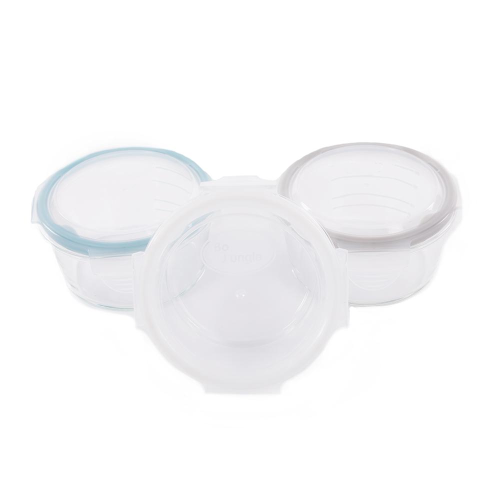 image B-Bowl Glass 360ml White - Grey - Blue