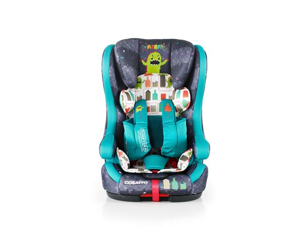 image Hubbub Group 123 Monster Arcade - Κάθισμα Αυτοκινήτου Ασφαλείας