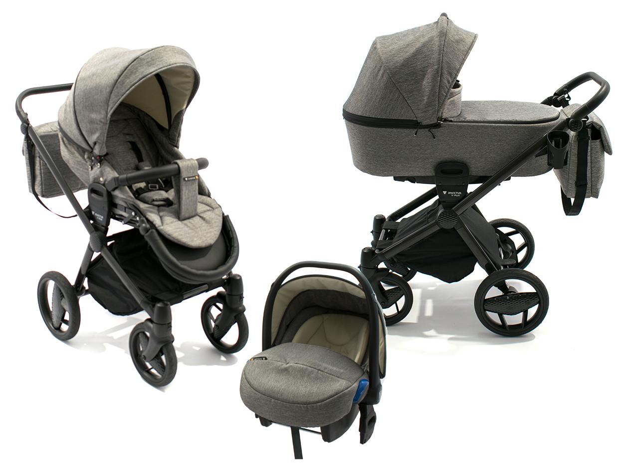 image Invictus V-Plus Carbon Multifunctional Stroller 3 in 1