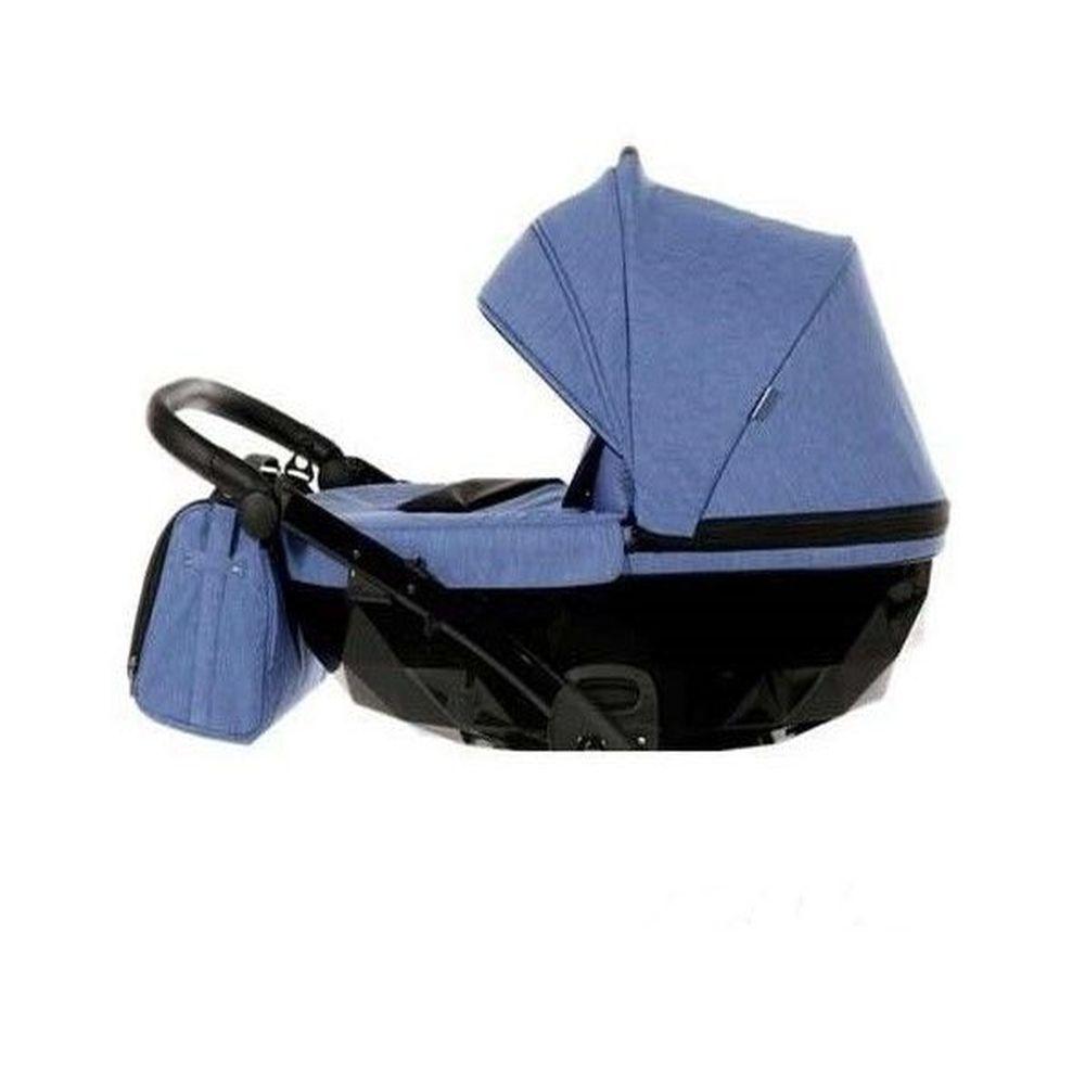 image Junama Πολυκαρότσι Διδύμων 2σε1 Diamond  Duo Slim Baby Blue 09