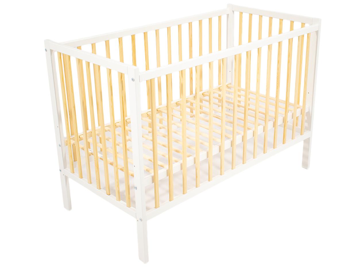 image Just Baby Βρεφικό Κρεβάτι Basic Λευκό