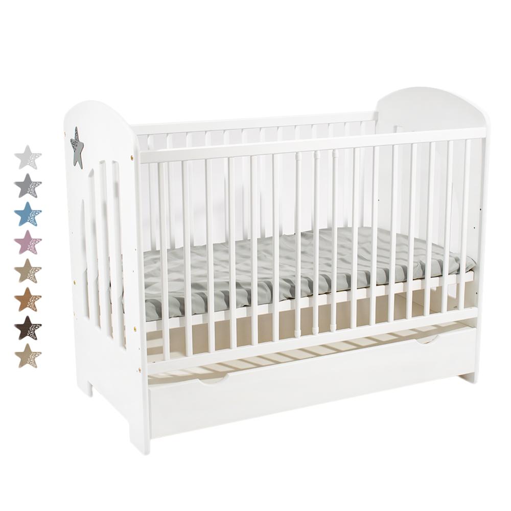 image Just Baby Κρεβάτι Stern με Συρτάρι και Μπαριέρα