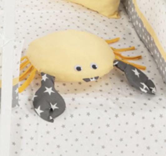 image Διακοσμητικό Μαξιλάρι Ζωάκι ΚΑΒΟΥΡΑΣ Κίτρινο