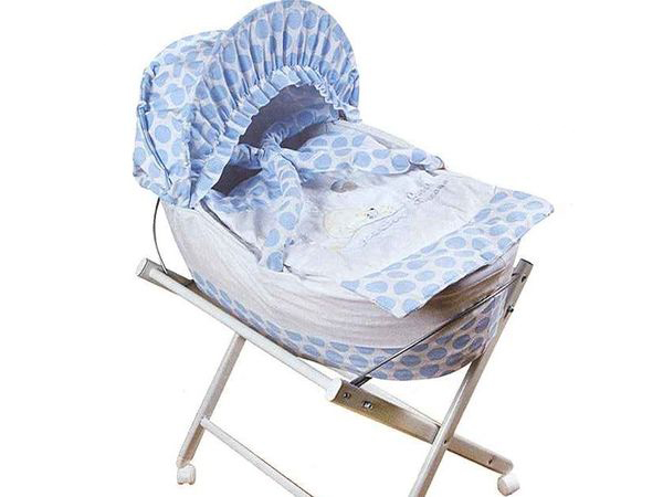 7508bb1af39 Just Baby βρεφική καλαθούνα Romantic Blue