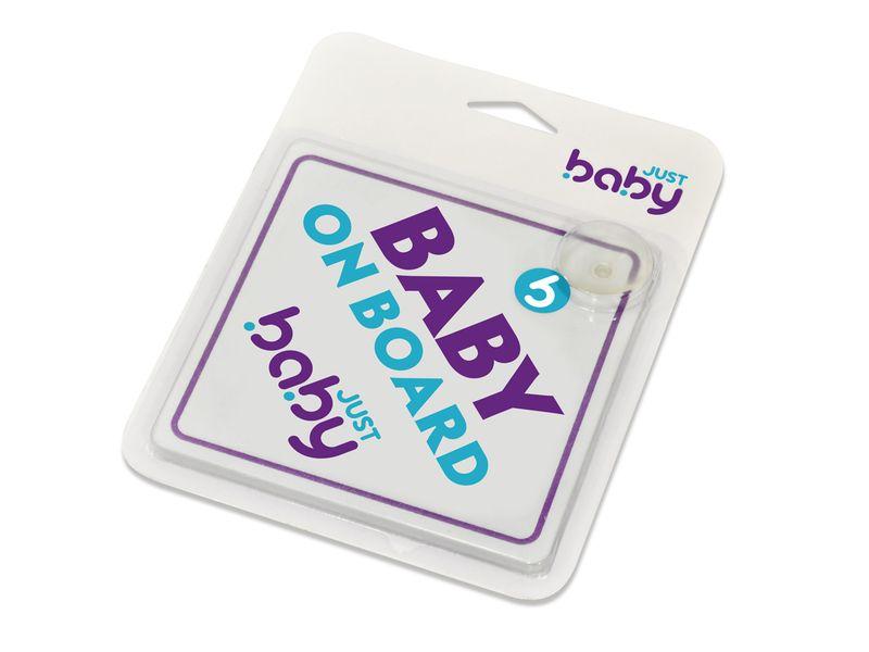 image - BABY ON BOARD ΠΡΟΕΙΔΟΠΟΙΗΤΙΚΟ ΣΗΜΑ ΑΥΤ/ΤΟΥ
