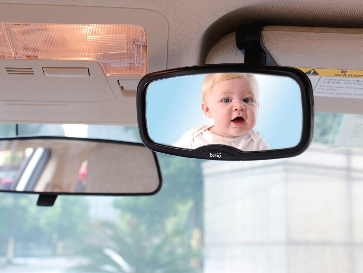 image Safety Mirror Καθρέφτης Ελέγχου Αυτοκινήτου