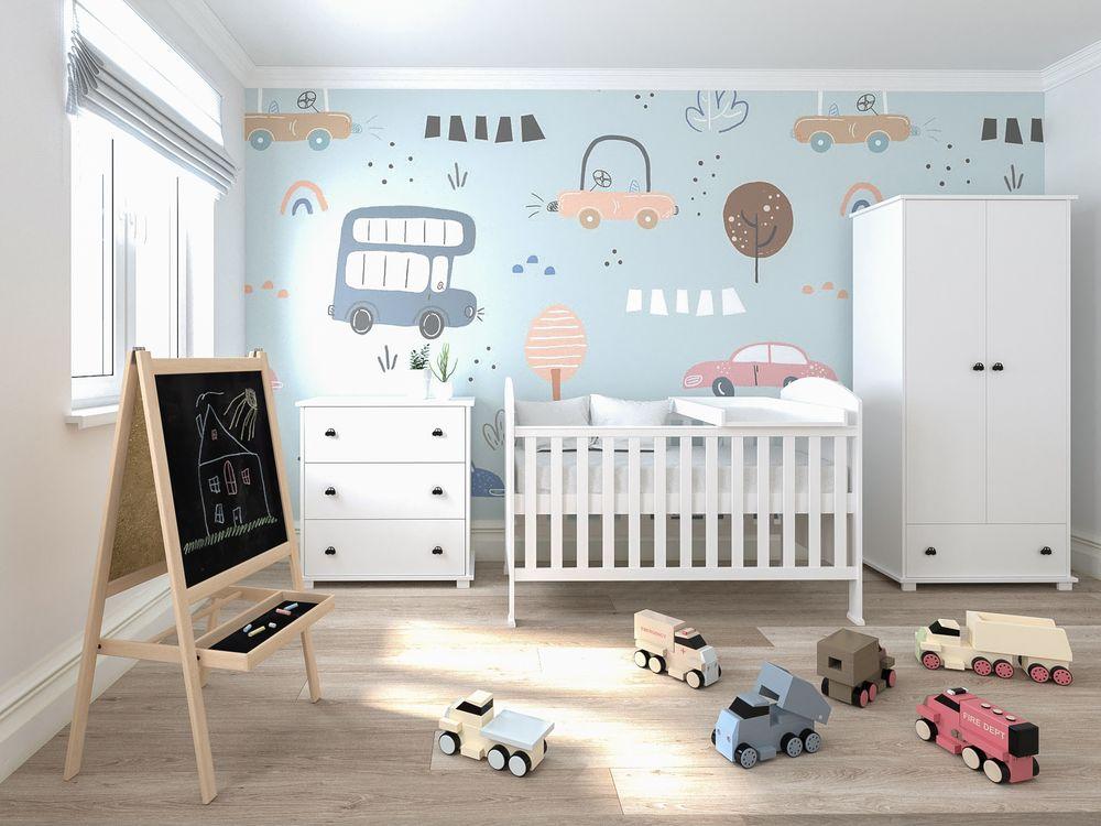 image Just Baby Προφηβικό Κρεβάτι Debby Λευκό