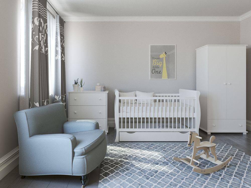 image Just Baby Κομοδίνο Ammy Λευκό