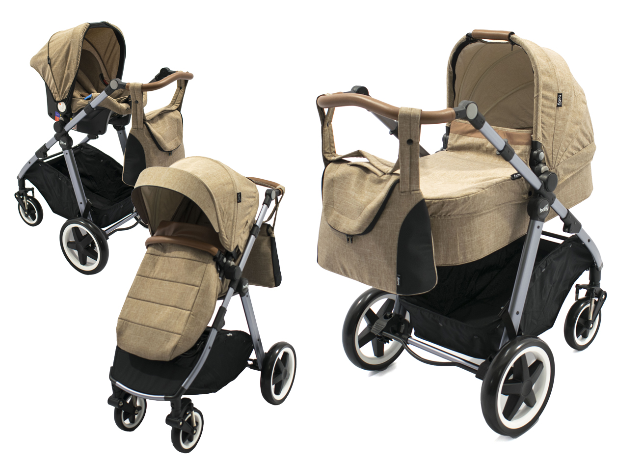 image Oasis Stroller 3 in 1