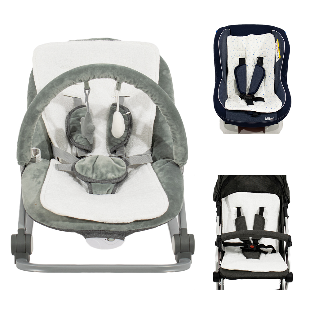 image Just Baby Στρωματάκι για Καρότσι, Κάθισμα αυτοκινήτου και Ρηλάξ 3 σε 1